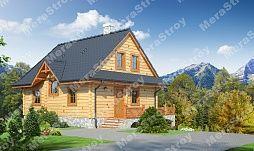 Строительство деревянных домов из профилированного бруса с б.